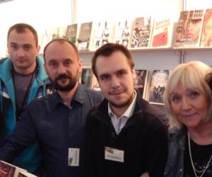 Spotkania z czytelnikami w czasie targów książek