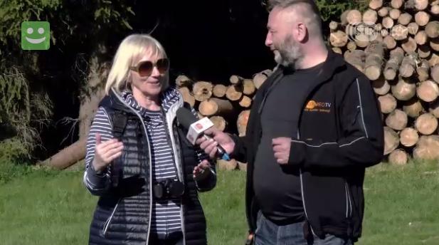 wywiad dla telewizji strimeo